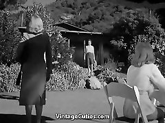 Super-steamy Girls in the Nudist Resort