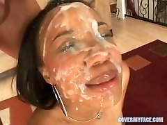 90 FACIAL CUM-SHOTS compilation