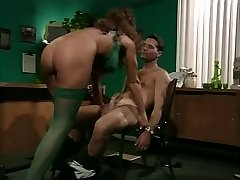 retro buxom milf anal in office