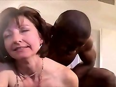 Klassisk hotwife interracial DP