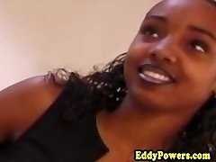 Ebony jävla oldman efter oral
