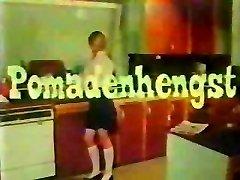 vintage 70-tallet tysk - Pomadenhengst - cc79