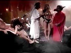 neznan porno zvezde v ukrašen nogavice in petah