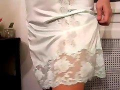 Mint Zelenej Vintage Pol Slip