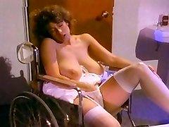 Retro Klasična - Belo Čipkasto Hlačne Masturbacija