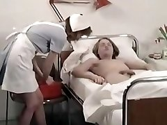 old school nurse and lucky nubile boy