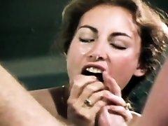 Loni Sanders En İyi Vintage Blowjob-Deepthroat