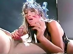 Elderly School soon to be vintage smoke fetish video