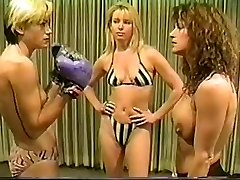 Cal Fine Christine vs Lee bare-chested boxing