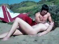 Romantic Retro Beach Vignette