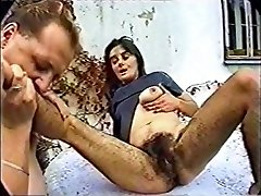 horny amaterski video s fetiš, par scena