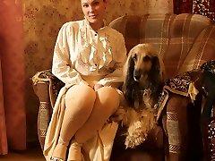 dama s psom