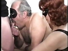 old couple with bisex young male, mmmm, vintage
