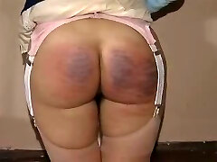 Excellent teen spanking in a vintage movie