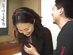 ژاپنی مامان, مادر با دختر ,, بدون سانسور