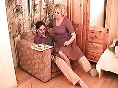 Milf Mom + Boy Threesome 02 From MatureSide