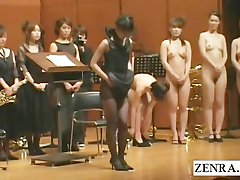 Japanese stark naked orchestra begins with striptease