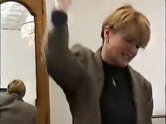 روسی دختر مدرسه ای سخت مجازات, معلم