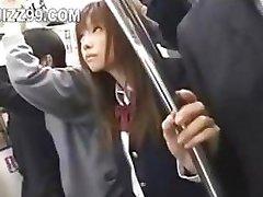 japanese schoolgirl creampie fucked in train 03