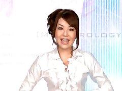 Sperm Night TV Reporter