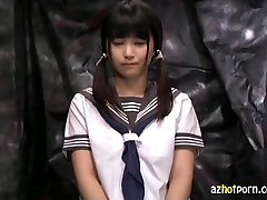 AzHotPorn.com - Confinement Chair Trance Schoolgirl