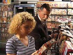 kiki daire in video store
