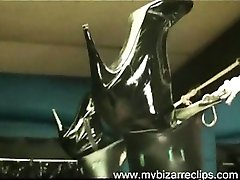 Awesome Brüste Wilder Latex Reife Explizite Makeout