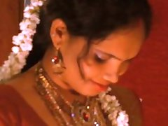 Indian Newly Married Hot Couple First Night