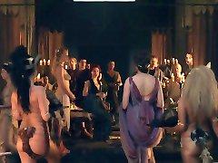 Spartacus: Orgia stseeni 01