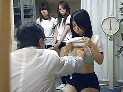 ژاپنی, دختر مدرسه ای (18+) آزمون پزشکی
