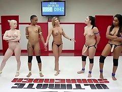 Tag-Team Erotic All Girl Grappling
