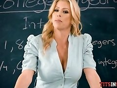 Fucking His Hot Blonde Math Tutor
