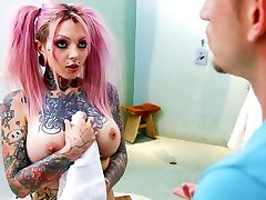 Sydnee Vicious & Bill Bailey in Fat Knocker Tattooed Sista Sydnee Vicious - BurningAngel
