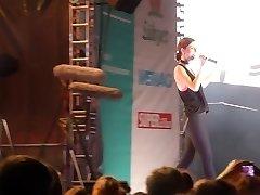 Lena Meyer-Landrut Guy Goo In Nose Cameltoe Pussy Bum On Stage