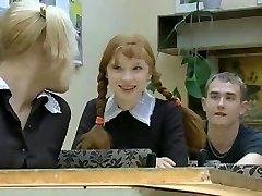 دختر جدید در مدرسه