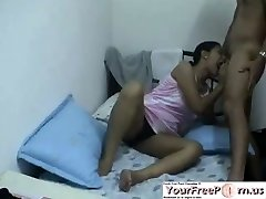 Indian Teen Makes Her Boyfriend Glad