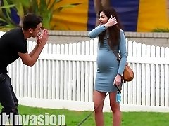 Smooching Prank- Pregnant Edition (GONE SEXUAL)