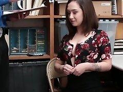 Shoplyfter - Slutty Teen Snažil Utéct, Dostane, V Prdeli, Místo