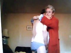 مادر بزرگ و پدر بزرگ و بعد از آن بر من !