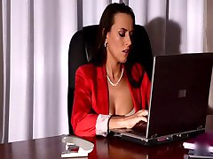 Office Slut Gets Fingered