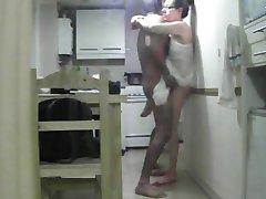 tia infiel espiada con su amante