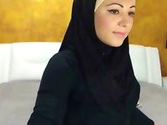 Sexy Hijabi Meitene par Cam