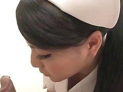 مثير الممرضة اليابانية