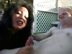 Latinské MILF má Velkou Kurva s Trochu Chlap!!