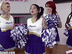 BurningAngel Emo-Cheerleaderka Tyłek