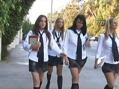 Κορίτσι Σχολείο Όργιο