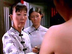 दृश्य में वियतनामी - सफेद रेशम पोशाक