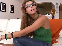 kuum brazillian tüdruk prillid