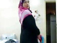 Juliet Delrosario vitun persettä Arabien mekko