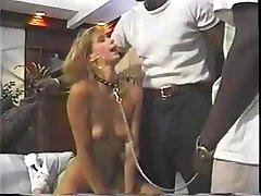 الجنس الرقيق إلى اثنين معلقة أسود